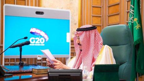 Coronavirus : Mohammed ben Salmane, roi d'Arabie saoudite, assiste au sommet virtuel du G20