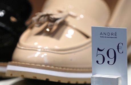 Magasin de chaussures André