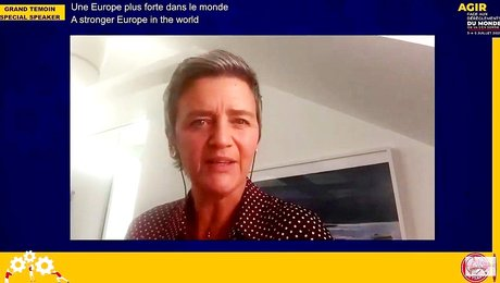 REAix Margrethe VESTAGER