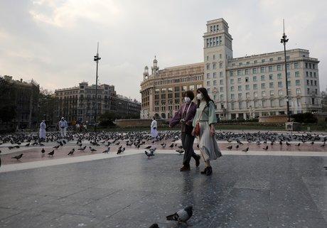 Coronavirus: les habitants de barcelone pries de rester chez eux