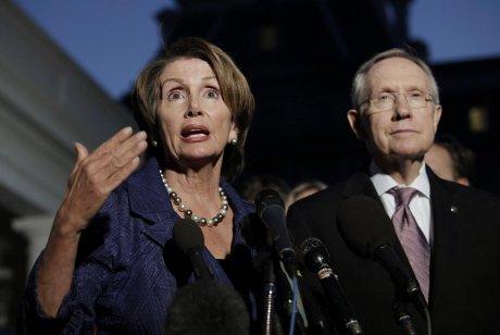 Nancy Pelosi et Harry Reid