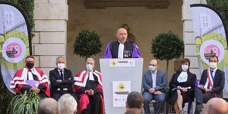 Philippe Augé, président de l'Université de Montpellier