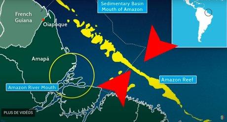 Récif de l'Amazone, forage, Amazon Reef Greenpeace