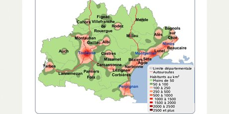 26 villes moyennes en Occitanie