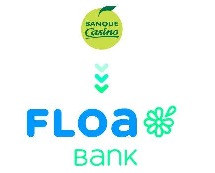 banque casino, floa logo