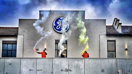 General Electric grève mobilisation