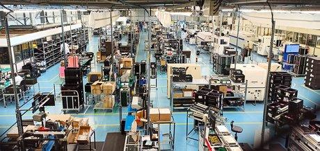 L'usine de Comwatt à Strasbourg