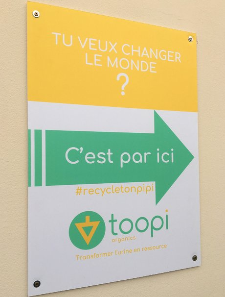 Toopi Organics panneau