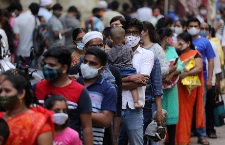 Coronavirus: plus de 100.000 nouveaux cas quotidiens en inde, une premiere