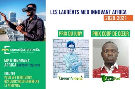 Euroméditerranée laureats concours africa innovation