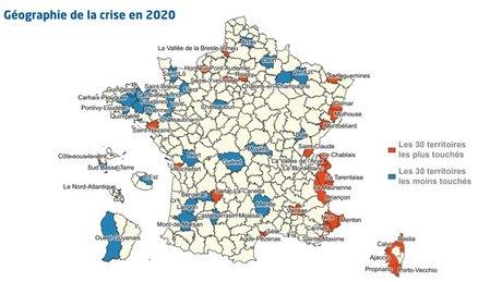 carte crise France Stratégie