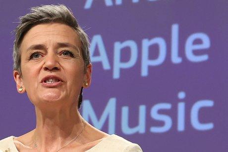 Apple Music, Margrethe Vestager