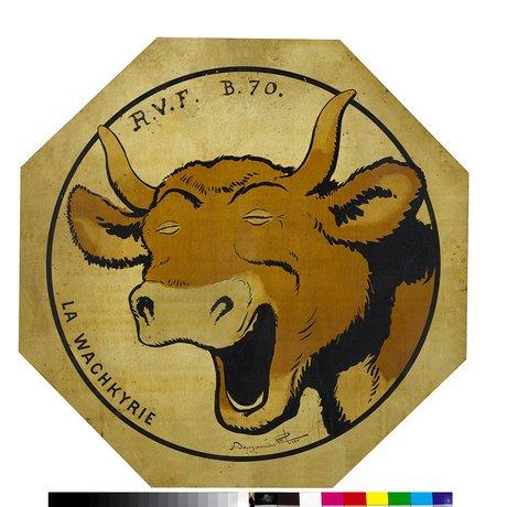 le RVF (Ravitaillement en Viande Fraîche), dont l'emblème est un bœuf hilare dessiné par Benjamin Rabier.