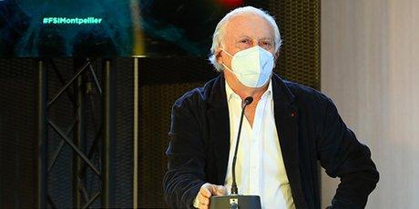 Jean-François Delfraissy, lors du FSI de Montpellier le 18 mai 2021