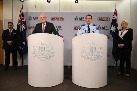 Ironside, AFP, Scott Morrison, Reece Kershaw