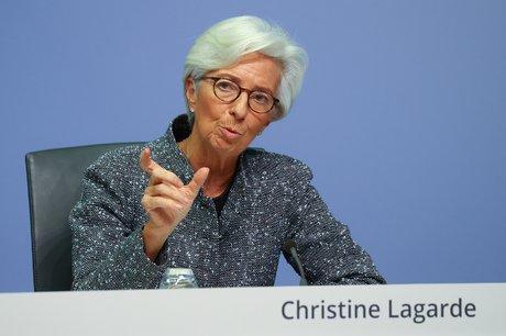 Lagarde (bce) evoque un risque a la hausse pour la croissance