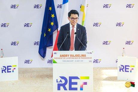 rajoelina RED MEDEF longchamp paris france