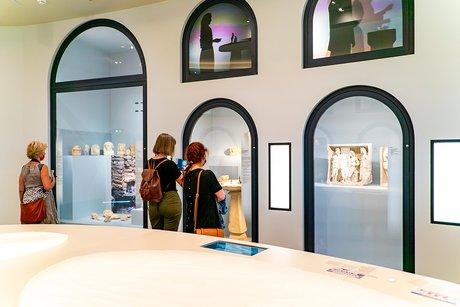 La galerie des objets archéologiques