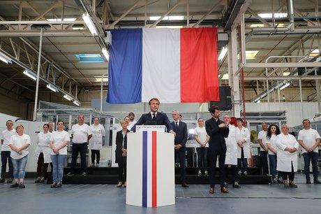 Emmanuel Macron Usine Valéo