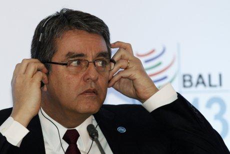 Roberto Azevedo, Direceteur général de l'OMC.