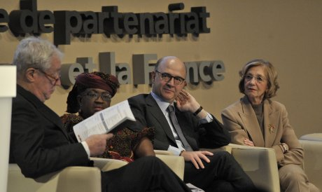 Ouverture de la conférence pour un nouveau modèle économique de partenariat entre l'Afrique et la France le 4 décembre 2013.