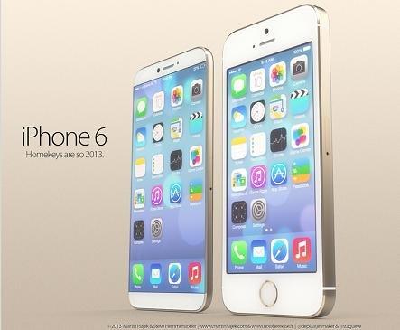Rumeurs iPhone 6 par Martin Hajek