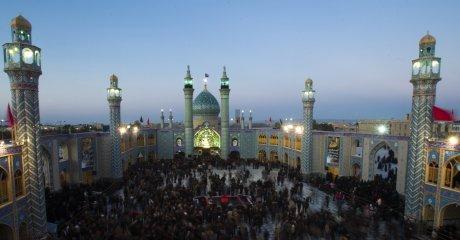 La mosquée d'Aran, dans la province d'Ispahan.