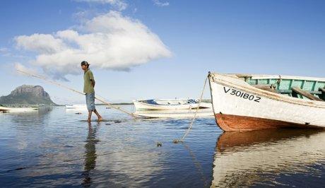 L'Île Maurice, dans l'Océan Indien