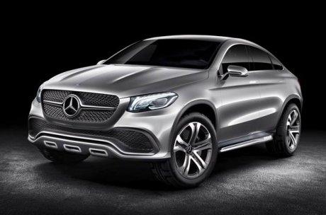Mercedes concept 4x4 Coupé