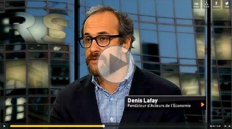 Denis Lafay présente la 8ème édition du Prix de l'esprit d'entreprendre