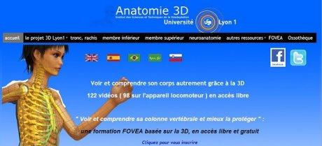 Mooc 3D Anatomie Lyon 1