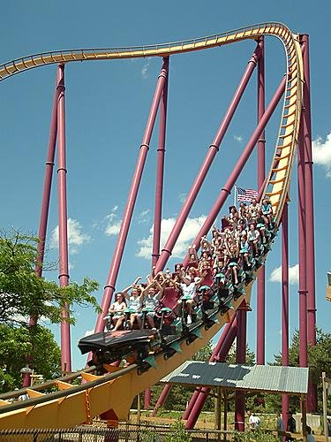 parcs d'attraction six flags