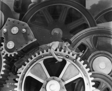 Charles Chaplin - Les Temps modernes