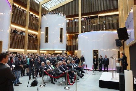 bioMérieux inaugure son centre R&D