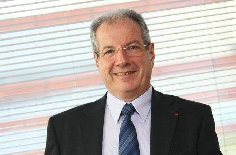 Jean-Michel Vernhes, le président du directoire de la SATB (société aéroport Toulouse-Blagnac)