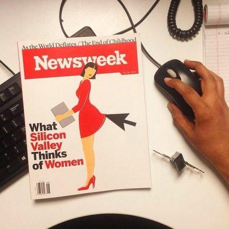 Silicon Valley Newsweek sexiste