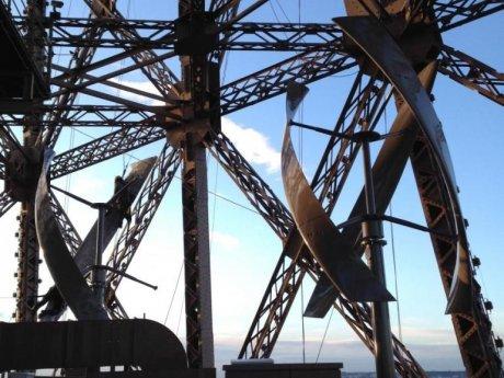 Les éoliennes de la Tour Eiffel