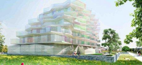 Kalelithos, Immeuble le Koh-I-Noor à Montpellier