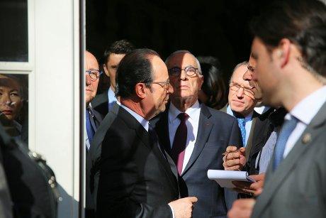 Hollande à Figeac