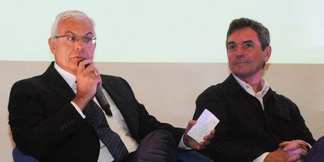 Alain Di Crescenzo (CCI de Toulouse), et Emmanuel Négrier (CNRS)