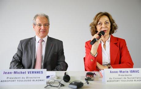 Anne-Marie Idrac et Jean-Michel Vernhes