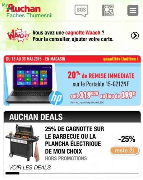Auchan en appelle aux sentiments pour moderniser son image - Carte de fidelite auchan fr ...