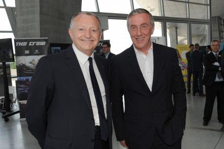 Patrick Bertrand et Jean-Michel Aulas