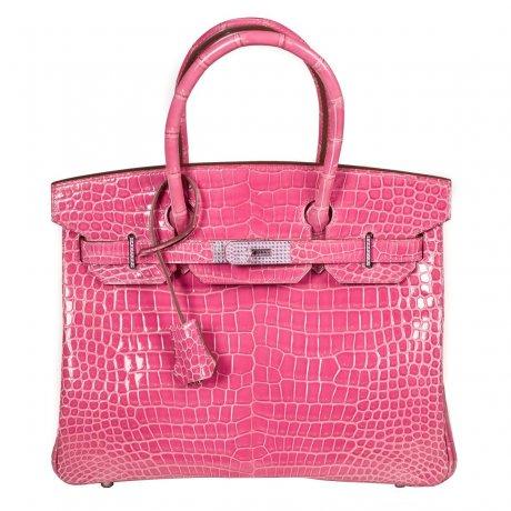 Hermès Birkin saphirs