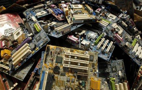 Déchets électroniques, recyclage, tri sélectif, poubelles, déchetterie, ordures,