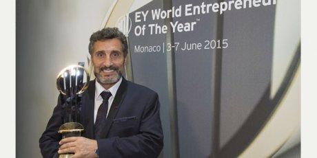 Mohed Altrad est le 1er Français à décrocher le trophée mondial  EY