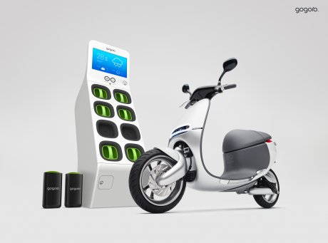 Les batteries du smart scooter