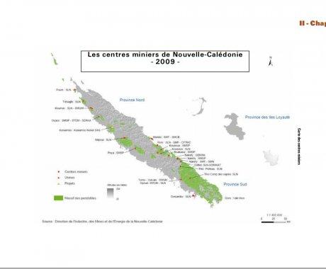 Centre minier calédonie