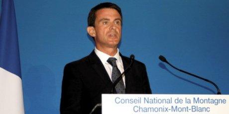 Manuel Valls au Conseil national de la montagne