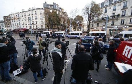 Journalistes présents à Saint-Denis pendant l'assaut des forces de l'ordre le 18 novembre
